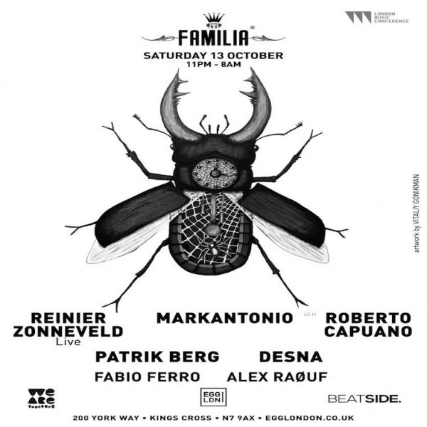 fabio ferro @ Familia september